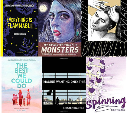 Largehearted Boy's Favorite Graphic Novels of 2017