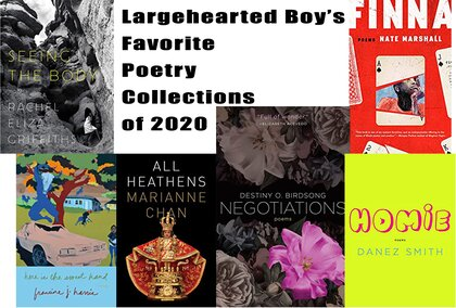 Largehearted Boy's Favorite Poetry Collections of 2020
